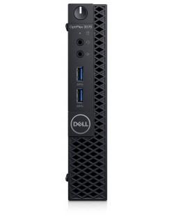Настолен компютър Dell OptiPlex - 3070 MFF, черен