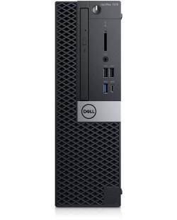 Настолен компютър Dell OptiPlex - 7070 SFF, черен