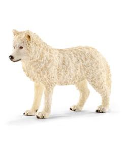 Фигурка Schleich от серията Дивия живот - Арктика и Антарктика: Полярен вълк
