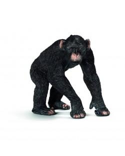 Фигурка Schleich от серията Дивия живот - Африка: Шимпанзе, мъжко
