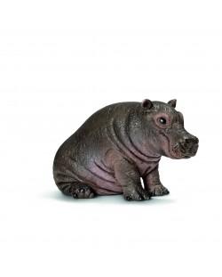 Фигурка Schleich от серията Дивия живот - Африка: Хипопотам, бебе