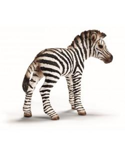 Фигурка Schleich от серията Дивия живот - Африка: Зебра - бебе