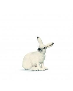 Фигурка Schleich от серията Дивия живот - Животните в Европа: Заек, бял