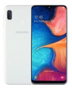 "Смартфон Samsung Galaxy A20e - 5.8"", 32GB, бял"