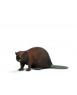 Фигурка Schleich от серията Дивия живот - Животните в Европа: Бобър