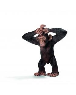 Фигурка Schleich от серията Дивия живот - Африка: Шимпанзе, малко