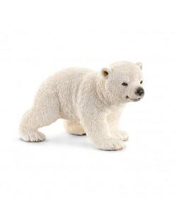 Фигурка Schleich от серията Дивия живот - Арктика и Антарктика: Полярно мече - ходещо