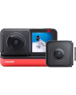Екшън камера INSTA360 - One R Twin, черен