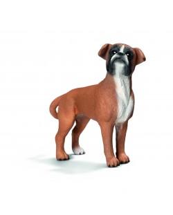 Фигурка Schleich от серията Кучета: Боксер, женски