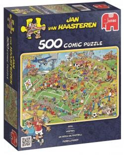 Пъзел Jumbo от 500 части - Футболен мач, Ян ван Хаастерен