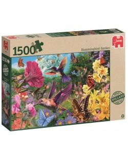 Пъзел Jumbo от 1500 части - Градината на колибритата