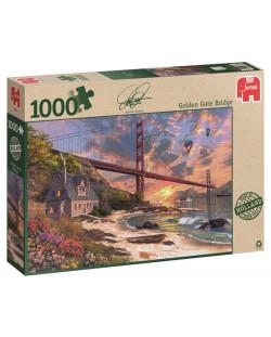 Пъзел Jumbo от 1000 части - Мостът Голдън гейт, Доминик Дейвисън