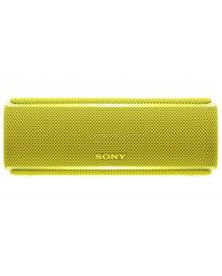 Мини колонка Sony SRS-XB21 - жълта