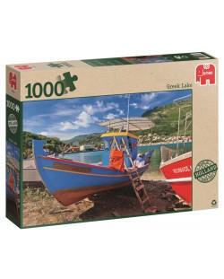 Пъзел Jumbo от 1000 части - Гръцко езеро