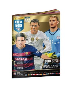 Албум Panini FIFA 365 2016г.
