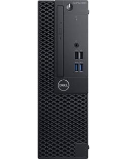 Настолен компютър Dell OptiPlex - 3060SFF, черен