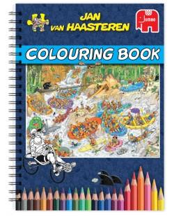 Книжка за оцветяване Jumbo - Част 1, Ян ван Хаастерен