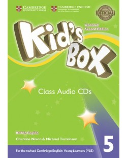 Kid's Box Updated 2ed. 5 Audio CD (3)