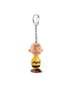 """Фигурка Schleich от серията """"Peanuts"""": Ключодържател - Чарли Браун"""