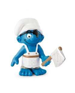 "Фигурка Schleich от серията ""Смърфовете – забавни фигурки"": Смърф - корабен готвач"