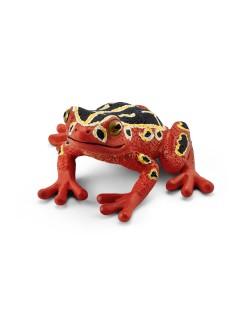 Фигурка Schleich от серията Дивия живот - Африка: Африканска тръстикова жаба