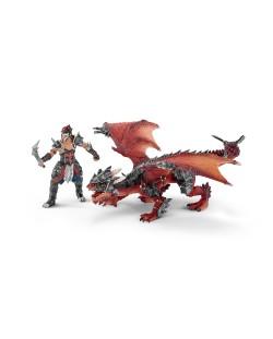 Фигурка Schleich от серията Рицари на Дракона: Воин с дракон