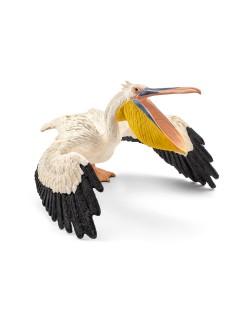 Фигурка Schleich от серията Дивия живот - Африка: Голям бял пеликан