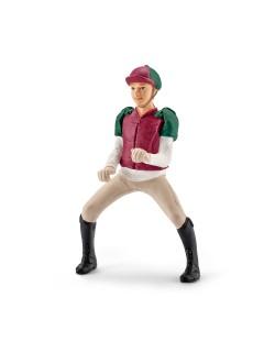 Фигурка Schleich от серията Аксесоари към Животни във фермата: Ездач - всестранна езда, розово