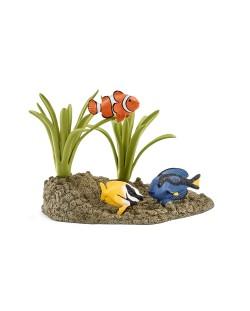Фигурки Schleich от серията Аксесоари към Диви Животни: Коралови рибки
