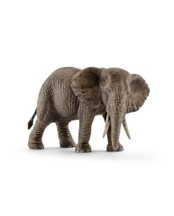 Фигурка Schleich от серията Дивия живот - Африка: Африкански слон - женски ходещ