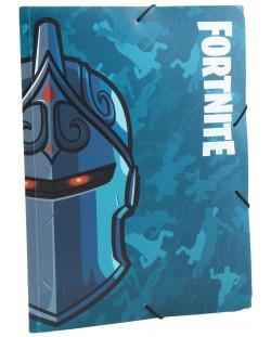 Папка с ластик Fortnite Black Knight А4