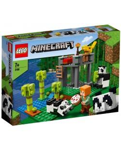Конструктор Lego Minecraft - Детска градина за панди (21158)