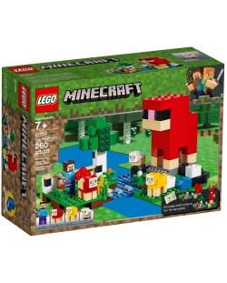Конструктор Lego Minecraft - Фермата за вълна (21153)