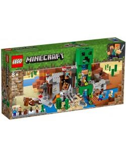 Конструктор Lego Minecraft - Мина Creeper (21155)