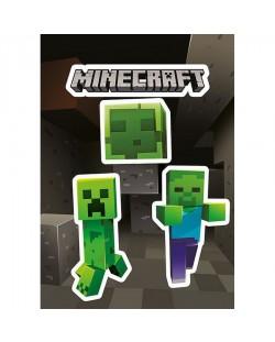 Стикери GB eye Minecraft - Creepers