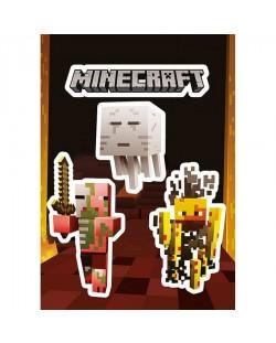 Стикери GB eye Minecraft - Monsters