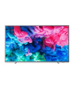 "Смарт телевизор Philips - 65PUS6523/12, 65"", 4K UHD LED, сребрист"