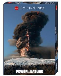 Пъзел Heye от 1000 части - Черен облачен вихър, Силата на Природата