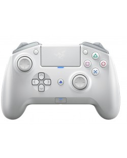 Геймпад Razer Raiju Tournament Edition - Mercury, за PS4/PC, v1.04