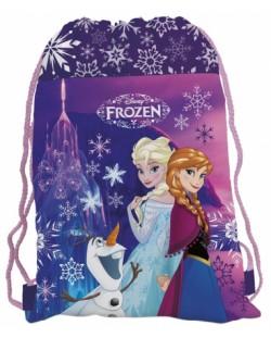 Спортен сак с връзки - Frozen