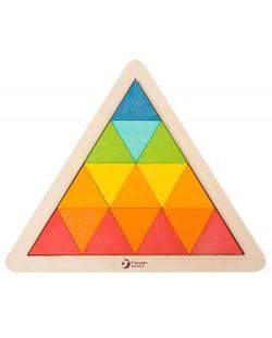 Дървена мозайка Classic World – Триъгълник