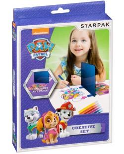 Комплект за прекопиране Starpak Paw Patrol - С магическо огледало
