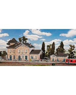 ЖП гара Volgelsheim Station Faller
