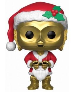 Фигура Funko Pop! Star Wars: Holiday Santa C-3PO (Bobble-Head), #276