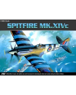 Военен самолет Academy Spitfire MK. XIVc (12274)