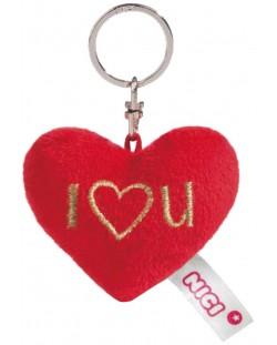 Ключодържател Nici - Плюшено сърце