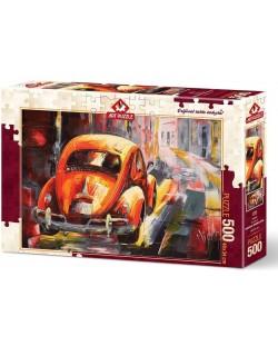 Пъзел Art Puzzle от 500 части - Бийтлинг, Миодраг Момчилович