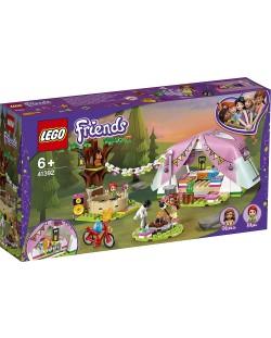 Конструктор Lego Friends - Луксозен къмпинг сред природата (41392)