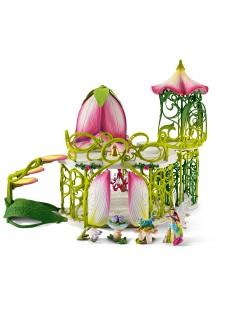 """Фигурка Schleich от серията """"Аксесоари към Баяла"""": Вълшебен елфически замък с принадлежности"""