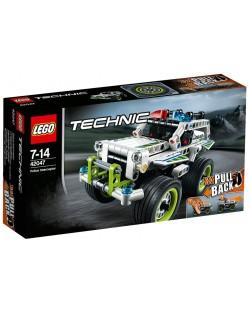 Конструктор Lego Technic - Полицейска кола за преследване (42047)